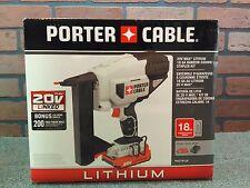 Porter Cable PCC791LA 20V MAX Li-Ion 18Ga Narrow Crown Stapler Kit-***NEW***