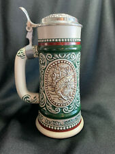 "Avon Brazil Beer Stein~""At Point"" English Setter~""The Strike"" Rainbow Trout~1978"