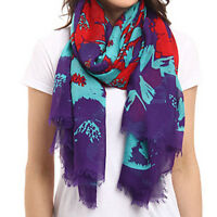 UGG Scarf Flower Print High Risk Wrap NEW