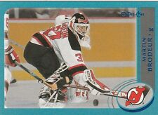 2002 2003 OPC 02/03 O PEE CHEE....BLUE PARALLEL....#3 MARTIN BRODEUR....426/500