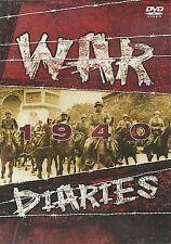 WAR DIARIES 1940 DVD - WORLD WAR TWO - WWII