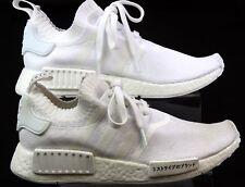 Da Uomo Adidas NMD R3 Primeknit passanti Lavorato a Maglia Fitness Sport Sneaker UK 7 scolorito