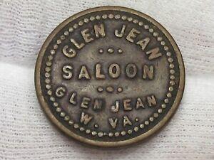 Good For Token - Glen Jean Saloon W VA G/F 2½¢.  #101