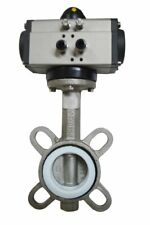 2'' Double Acting Butterfly Valve Pneumatic Air Actuated Ball Valves Ball Pump