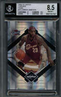 LEBRON JAMES 2009/10 LIMITED THREADS BGS 8.5 PRIME 3-COLOR PATCH #22/25 SS1416