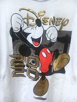 Official Disney Mickey Mouse  2020 100% Cotton WHITE T-Shirt ADULT Sz XL NWT!