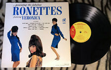 PRESENTING THE FABULOUS ♫ RONETTES ♫ RARE 1964 1st PRESS PHLP-4006 PHIL SPECTOR