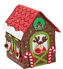 3D Reindeer Stable Foam Christmas Craft Kit Kids Gift