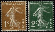 FRANCE 1933 Semeuse Camée  YT n° 277B - 278  neufs ★★  luxe / MNH