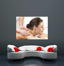 SPA HEALTH BEAUTY STUDIO CLINIC MASSAGE GIANT ART POSTER PRINT  WA448