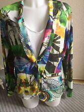 Desigual veste blazer by Lacroix taille 44 neuve