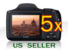 5x Clear LCD Screen Protector Guard Shield Film For Canon PowerShot SX520 H