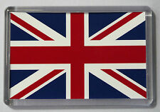 5 x Union Jack Flag Fridge Magnet- Free Postage