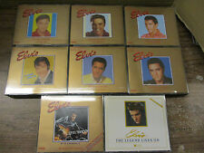 Elvis Gold Collection # 1-7 Doppel CD +  Legend Lives 2er CD - Komplett 16 CDs