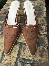 Chaussures marron Type Mules taille 39