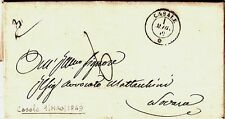 106-REGNI DI SARDEGNA, PREF.,PERIODO I GUERRA D' INDIPENDENZA,CASALE-NOVARA,1849