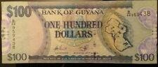 GUYANA 100 DOLLARS  2012        P-36b.2       / watermark - value 100 /