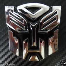 Car ABS Autobot Transformers Motorcycle Emblem Badge Sticker for Spark Captiva