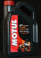 4 Liter Motul 7100 Motorrad Öl  4T Motoröl 15W50 Vollsynthetisch 15W-50 ESTER