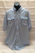 Columbia PFG shirt guide shirt XL light blue