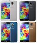Samsung Galaxy S5 SM-G900F 16GB 32GB Black Blue White Gold Unlocked + Warranty