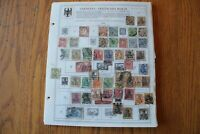 M60 Lot of Germany & German Colonies Stamps on 23 Minkus binder Pages
