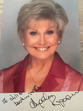 6x4 Hand Signed Photo of TV Presenter Angela Rippon     Rip Off Britain