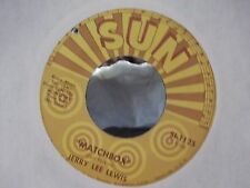 45-JERRY LEE LEWIS ON SUN RECORDS LOVE ON BROADWAY / MATCHBOX