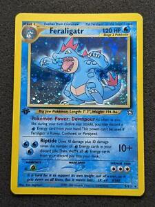 5/111 | Feraligatr HOLO | Neo Genesis | 1st Edition | Excellent