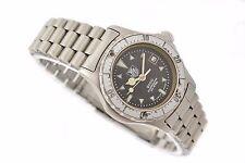 Vintage Tag Heuer Serie 2000 Cuarzo Acero Inoxidable Reloj De Mujer 972.008 1335