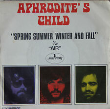 "Vinyle 45T Aphrodite's Child   ""Spring summer winter and fall"""