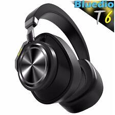 Bluedio T6 Bluetooth 4.2 Cordless HiFi Headphones ANC, Wireless Headset With Mic