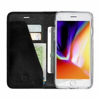 Krusell Genuine Premium Leather Folio Card Wallet Case Cover for Apple iPhone 8