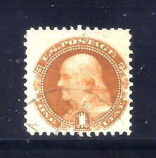 US Stamps - #112 - USED - 1 cent 1869 Pictorial Issue - CV $130