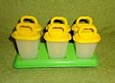 Tupperware Popsicle Pudding Freezer Set- 481 Tray- 345 Stick- 343 Lid- 344 Tups