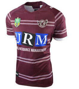 Manly Sea Eagles NRL Home ISC Jersey Adults Sizes S-7XL! T8