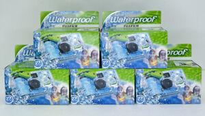 FujiFilm Disposable Cameras Quick Snap Waterproof Pool Underwater 35 mm Lot Of 5