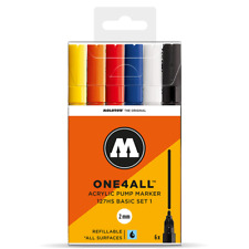 Molotow ONE4ALL 127HS Basic-Set 1 [6 Markers]