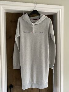 Tommy Hilfiger Essentials Hooded Girls Sweat Dress With Pockets Size 16/17  BNWT