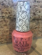 OPI HELLO KITTY 2016 Japan Limited Edition H94 SITTING UNDER CHERRY BLOSSOMS