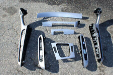 BMW OEM E46 M3 Coupe Brushed Aluminum Interior Trim Kit 8 Pieces