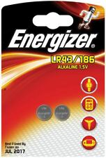 4 X Energizer Alkaline Lr43 186 Batteries 1.5v 1176a Ag12 Watches Calculators