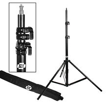 "BEST ADJUSTABLE PHOTOGRAPHIC LIGHT STANDS 7'6"" FOR VIDEO LIGHTING"