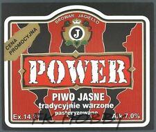 Poland Brewery Pokrówka Power Beer Label Bieretikett Etiqueta Cerveza pk2.2