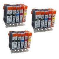 15x Ink Cartridges PGI 525 XL CLI 526 Compatible For Canon PIXMA IP4850 IP4950