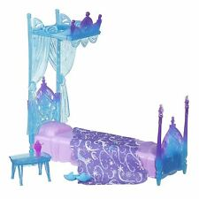 Frozen Disney Icicle Canopy Bed Set - Elsa Play Doll Set