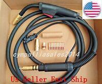 US SELLER MIG WELDING GUN 10' 150A Millermatic 175/180/185/190/211, IronMan 210