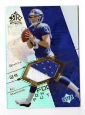 ELI MANNING NFL 2004 REFLECTIONS FOCUS ON THE FUTURE JERSEYS GOLD (GIANTS)