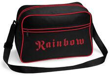 RITCHIE BLACKMORE'S RAINBOW Classic Band Logo RETRO SHOULDER BAG TASCHE OFFICIAL