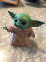 Baby Yoda Fan Art Figurine Toy Hand Painted The Child Manadalorian